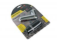 Kryptonite 998631 KryptoLok 10-S Disc Lock DFS Chrome Carrying Pouch