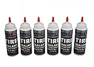 MASSFX Premium Flat Preventer Tire Sealant Made in USA (16 oz) 119-0016 6Pack