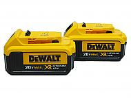 Dewalt DCB204 4 AMP 20V Lithium Ion Battery 2 Pack