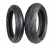 NEW MICHELIN PILOT POWER 120/70ZR17 & 180/55ZR17 180 55 17 120 70 17 2 tire set