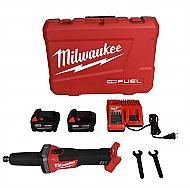 Milwaukee M18 Fuel 18-Volt Lithium-Ion Brushless Cordless 1/4 in. Die Grinder Kit