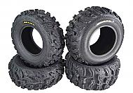 Kenda Bear Claw EX 26x10-12 F 26x12-12 R ATV 6 PLY Tires Bearclaw - 4 Pack Set