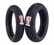 Full Bore F2 120/70ZR17 Front 160/60ZR17 Rear Radial Sport Bike Motorcycle Tire Set