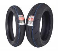 Full Bore F2 120/70ZR17 Front 190/55ZR17 Rear Radial Sport Bike Motorcycle Tire Set