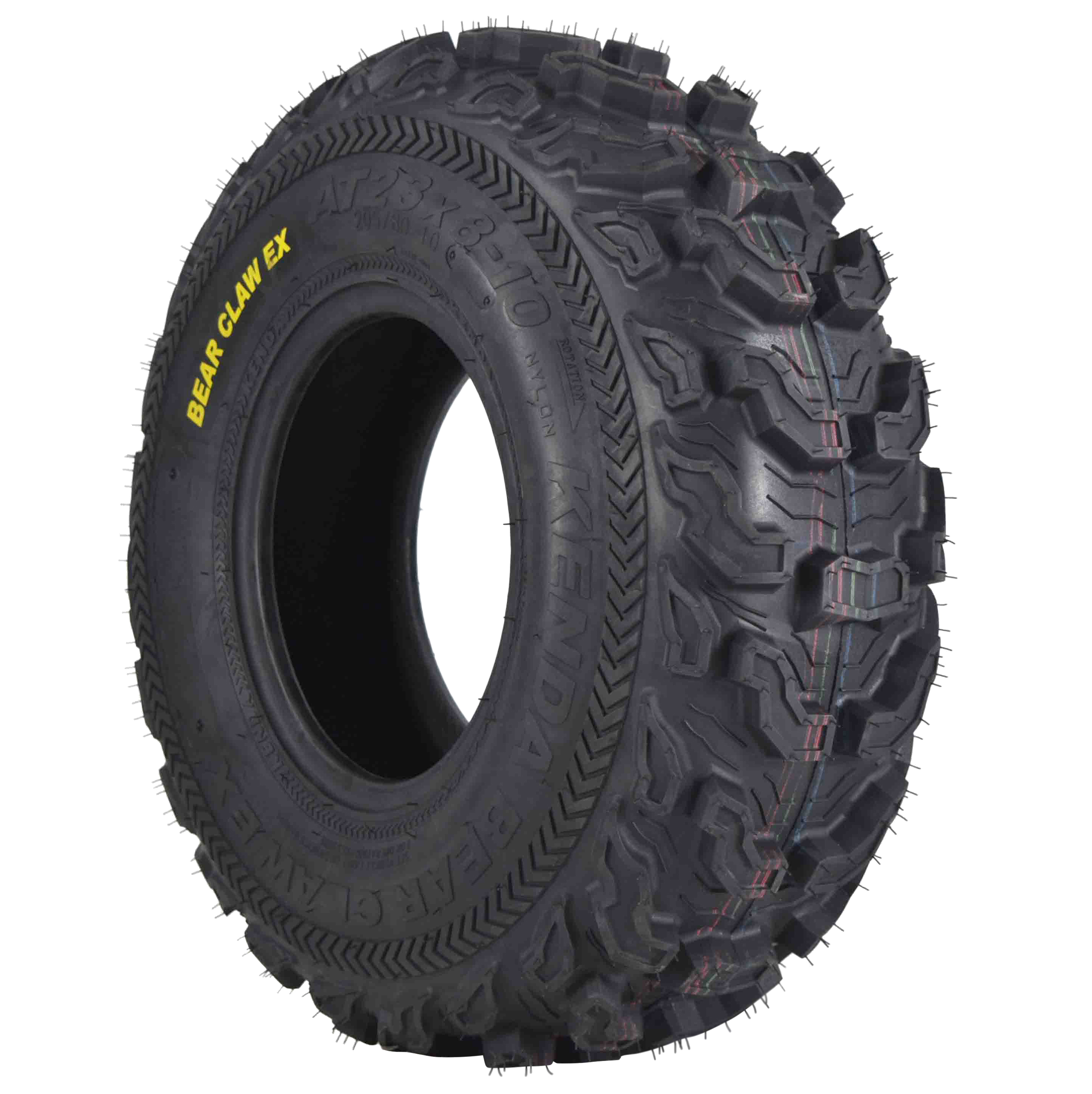 Kenda-Bear-Claw-EX-23x8-10-Front-ATV-6-PLY-Tire-Bearclaw-23x8x10-Single-Tire-image-1