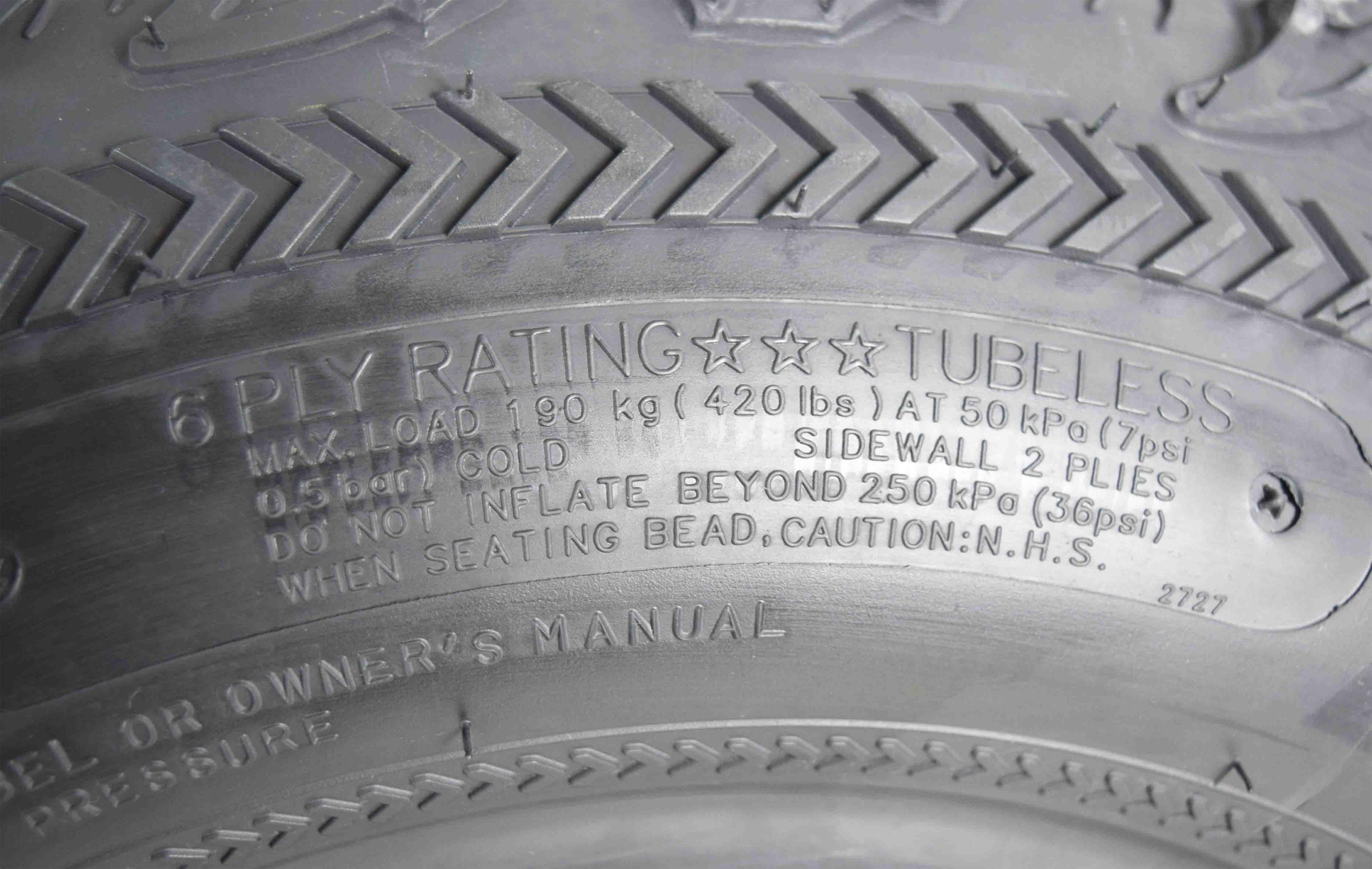 Kenda-Bear-Claw-EX-25x10-12-Rear-ATV-6-PLY-Tire-Bearclaw-25x10x12-Single-Tire-image-5