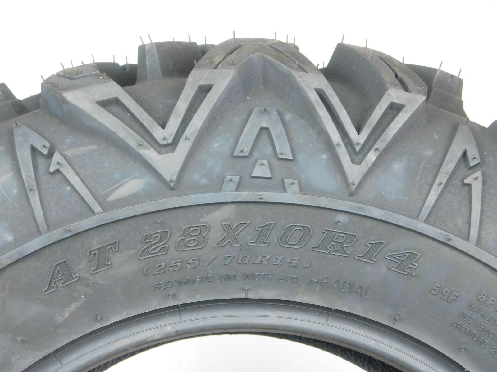 Arisun-28x10-14-Tires-Bruiser-XT-RADIAL-8ply-255-70R14-N4D-Protection-image-4