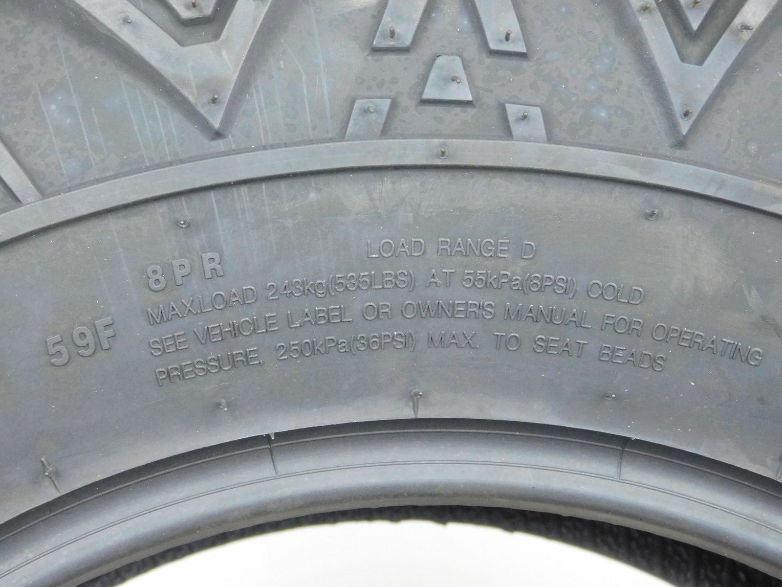 Arisun-28x10-14-Tires-Bruiser-XT-RADIAL-8ply-255-70R14-N4D-Protection-image-5